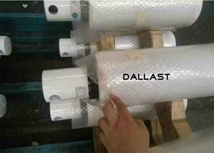 42CrMo Chrome Plated Steel Bar Hydraulic Cylinder Hollow Piston Neutral Salt Spray Test 500 Hours
